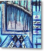 The Canvas Story  Metal Print