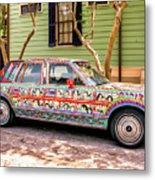The Car Metal Print