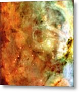 The Carina Nebula Panel Number One Out Of A Huge Three Panel Set Metal Print