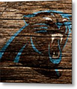 The Carolina Panthers 4b Metal Print
