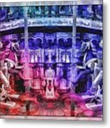 The Carousel Of Alice   Metal Print