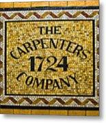 The Carpenters Company Metal Print