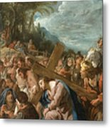 The Carrying Of The Cross Metal Print
