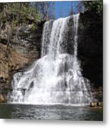 The Cascades Falls II Metal Print