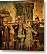 The Cast Takes A Bow Metal Print