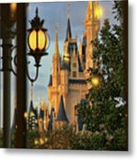 The Castle From The Palace Metal Print