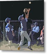 The Catch Metal Print
