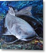 The Catfish And The Crawdad Metal Print
