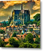 The Cathedral At Arundel Metal Print