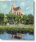 The Cathedral At Auxerre Metal Print