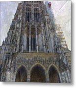The Cathedral At Ulm Metal Print