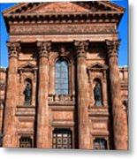 The Cathedral Basilica Of Saints Peter And Paul Metal Print