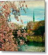 The Cathedral Basilica Of The Sacred Heart Metal Print