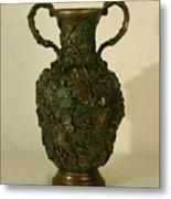 The Cedar Ridge - Wildflower Vase Prickly Pear Side Metal Print