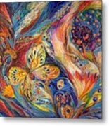The Chagall Dreams Metal Print by Elena Kotliarker