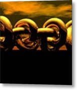The Chain Metal Print