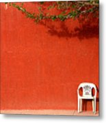 The Chair Metal Print