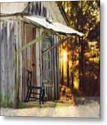The Chair Metal Print by Stephanie Calhoun