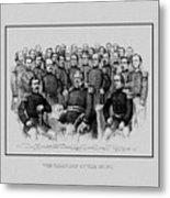 The Champions Of The Union -- Civil War Metal Print