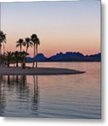 The Channel Metal Print