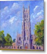 The Chapel At Duke University Metal Print