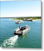 The Chappy Ferry Metal Print