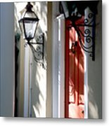 The Charme Of Charleston Sc Metal Print