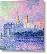 The Chateau Des Papes Metal Print