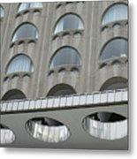 The Cheese Grater Detail Metal Print