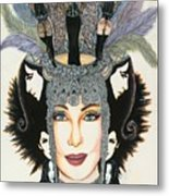 The Cher-est Painting Metal Print by Joseph Lawrence Vasile
