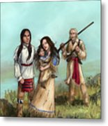 The Cherokee Years Metal Print by Brandy Woods