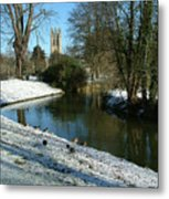 The Cherwell. Metal Print by Mike Lester