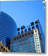 The Chicago Group Metal Print