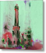 The Chicago Water Tower 535 4 Metal Print