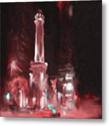 The Chicago Water Tower Metal Print