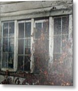 The Child At The Window Metal Print