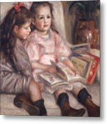 The Children Of Martial Caillebotte Metal Print by Pierre Auguste Renoir