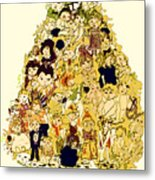 The Children Tree Metal Print