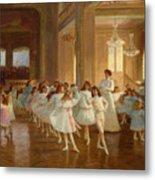 The Children's Dance Recital At The Casino De Dieppe Metal Print