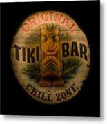 The Chill Zone Metal Print by Trish Tritz