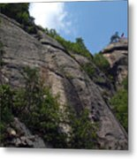 The Chimney At Chimney Rock State Park Nc Metal Print