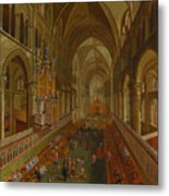 The Choir - Canterbury Cathedral Metal Print