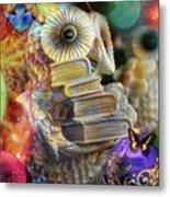 The Christmas Owl  Metal Print
