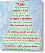 The Christmas Prayer Metal Print