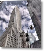 The Chrysler Building In Nyc Usa Metal Print