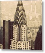 The Chrysler Building New York Metal Print