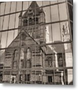 The Church Metal Print by JC Findley