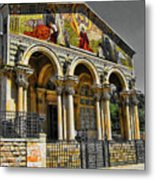 The Church Of All Nations Metal Print