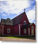 The Church Of Kustavi Metal Print