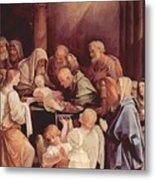 The Circumcision Of The Child Jesus 1640 Metal Print